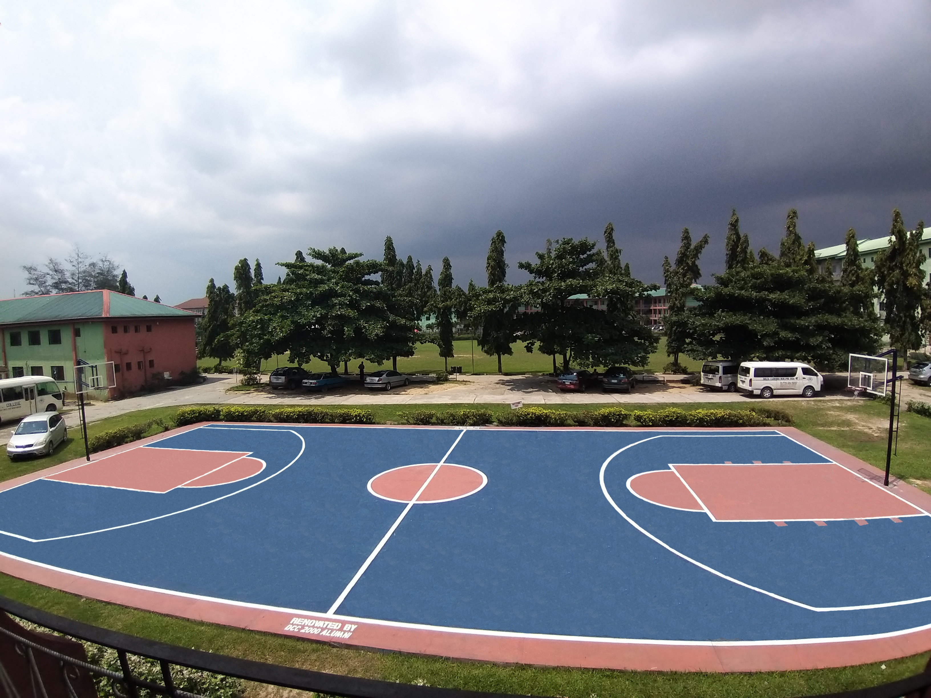 Renovation of Baskerball Court